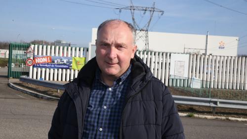 """Fermeture de la centrale de Fessenheim : """"un jour triste pour Fessenheim, pour l'Alsace, pour la France"""", estime le maire de la commune"""