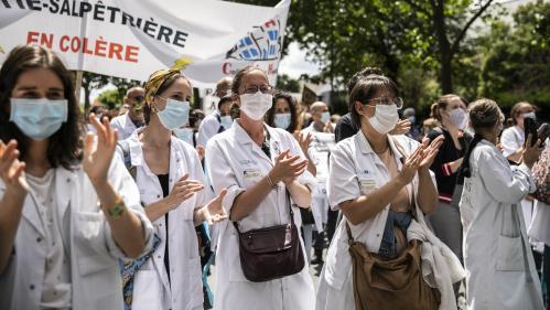 DIRECT. Ségur de la santé : les soignants de nouveau dans la rue pour réclamer d'avantage de moyens