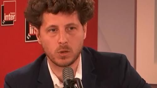 """VIDEO. La 5G est """"extrêmement consommatrice d'énergie"""" et """"pose des questions d'autonomie stratégique du pays"""", selon Julien Bayou (EELV)"""