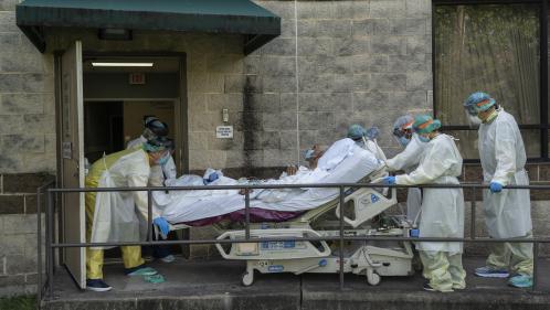 Coronavirus : l'épidémie en phase exponentielle aux Etats-Unis en plein Thanksgiving