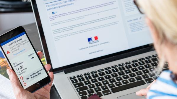 """Remboursement des voyages annulés: l'association de consommateurs CLCV prête à aller """"devant le Conseil d'État"""" si """"le gouvernement ne réagit pas"""""""