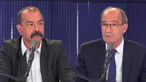 """Image de couverture - Crise économique, réforme des retraites, municipales à Marseille... """"le8h30franceinfo"""" avec Philippe Martinez et Éric Woerth"""