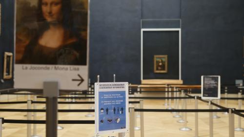 Paris : le musée du Louvre rouvre ses portes