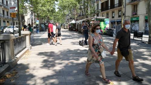 Espagne : le port du masque devient obligatoire en Catalogne