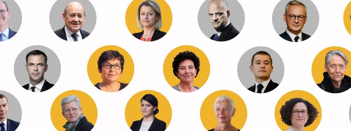 Age Parite Experience Politique Neuf Infographies Pour Decouvrir Le Gouvernement De Jean Castex