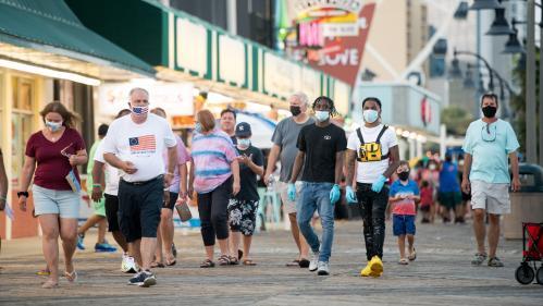 Coronavirus : plus de 60 000 nouveaux cas de contamination en 24 heures aux Etats-Unis, un record