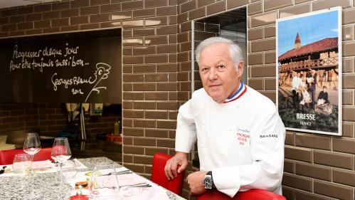 À la carte. Portraits de chefs : Georges Blanc et son village gourmand