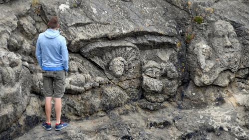 Un été en France. Les rochers sculptés de l'abbé Fouré en Ille-et-Vilaine