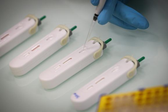 Le test rapide Covid 19 de NG Biotech.