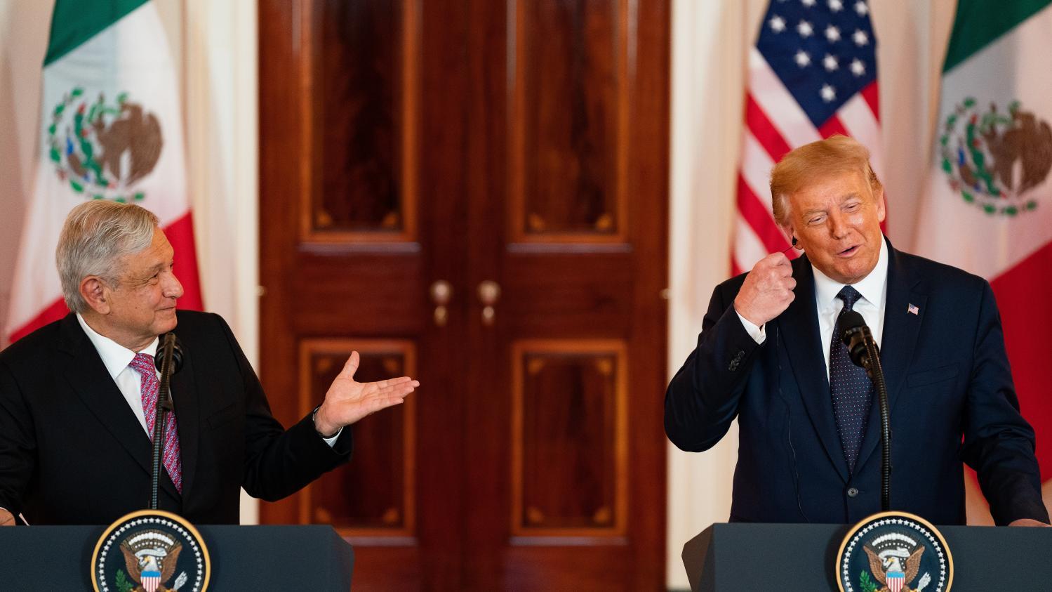 Photo of Donald Trump corrige ses propos sur le Mexique pour recevoir le président Lopez Obrador à la Maison Blanche
