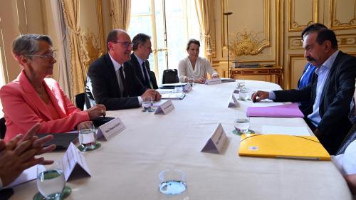 DIRECT. Remaniement : Jean Castex poursuit les échanges avec les partenaires sociaux à Matignon