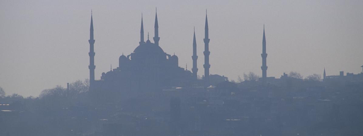 L\'ex-basilique Sainte-Sophie d\'Istanbul (Tuquie).