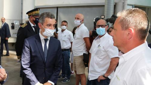 """Bayonne : Gérald Darmanin promet des mesures """"pour les chauffeurs de toute la France"""""""