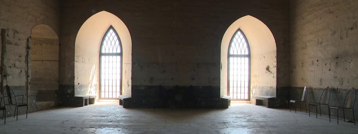 Le Palais des Papesdévoile ses lieux cachés au public.