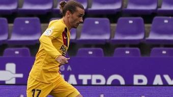 Foot : Antoine Griezmann incertain pour le 8e de finale retour de Ligue des champions entre le FC Barcelone et Naples