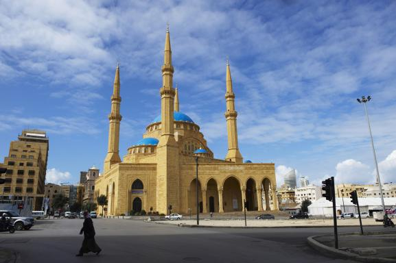 Mosquée Al-Omari, Beyrouth, février 2020