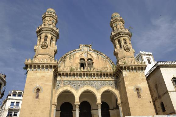 La mosquée Ketchaoua d\'Alger le 6 mars 2010