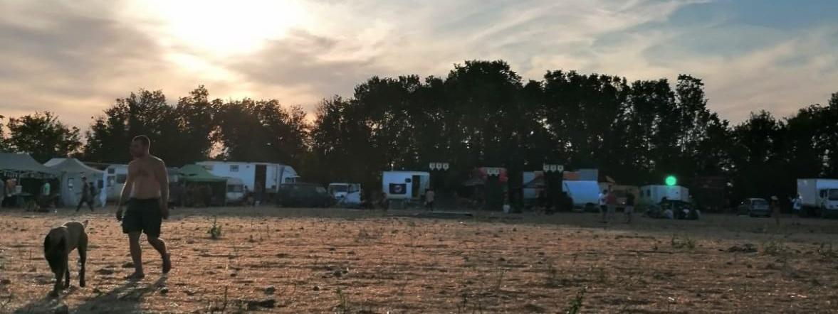 Après à peine deux jours de présence sur le site de Saint-Parize-le-Chatel, les fêtards ont quitté les lieux vers 18h ce lundi 13 juillet.