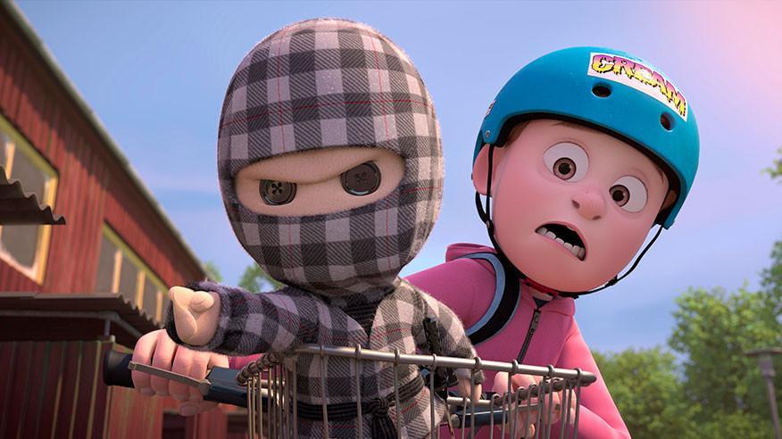"""""""Mon Ninja et moi"""" : un beau film d'animation danois sur une amitié insolite"""