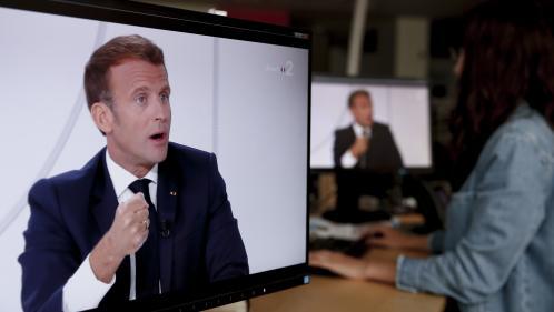 Masques, relance, référendum... Ce qu'il faut retenir de l'interview du 14-Juillet d'Emmanuel Macron
