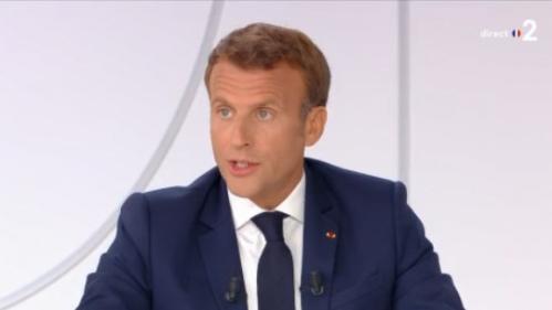 VIDEO. Coronavirus : Emmanuel Macron ne prendra pas de chloroquine s'il est testé positif au Covid-19