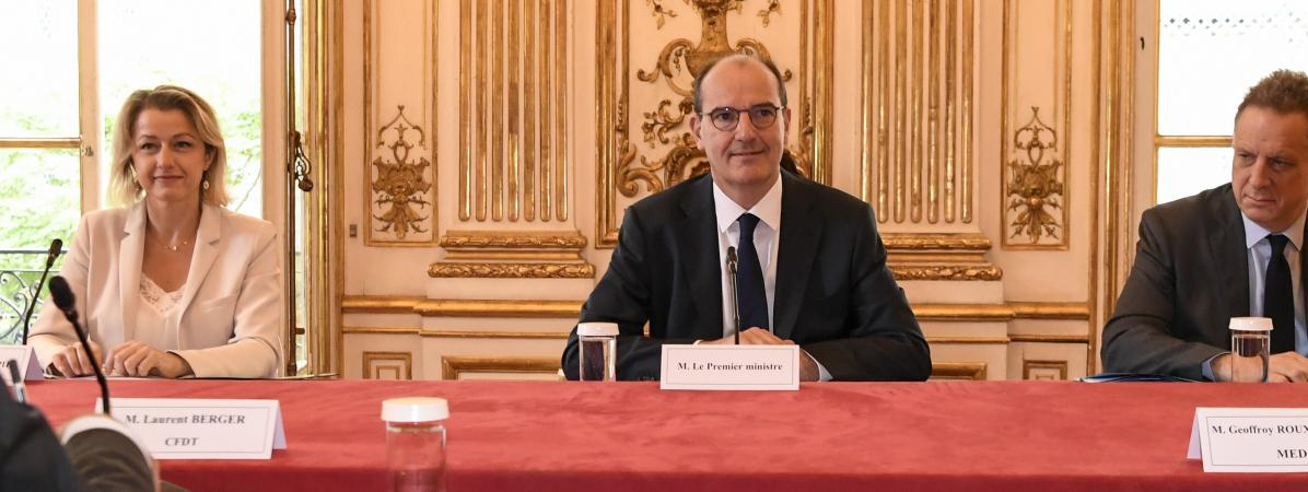 Jean Castex a annoncé vendredi 17 juillet le report de la réforme des retraites et de celle de l\'assurance-chômage