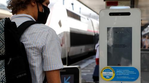"""""""Nous souhaitons avoir un coup d'avance"""":des bornes de contrôle de température installées dans la Gare de Lyon à Paris"""