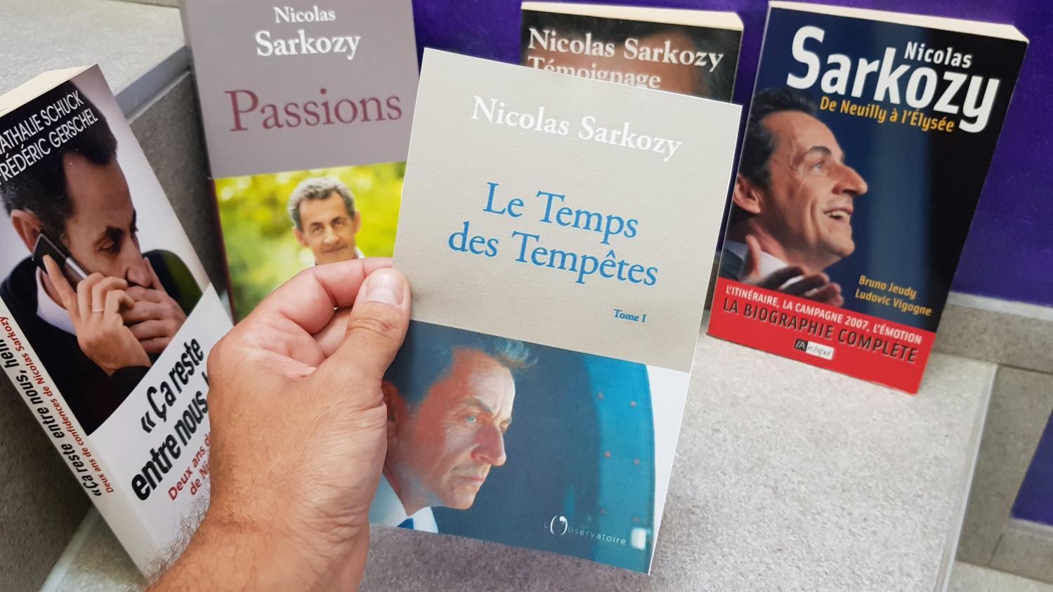 Ce que contient  Le Temps des tempêtes , le nouveau livre de Nicolas Sarkozy qui revient sur les débuts de son quinquennat