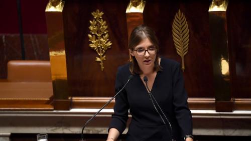 Après François de Rugy et Christophe Castaner, Aurore Bergé candidate à la présidence du groupe LREM à l'Assemblée