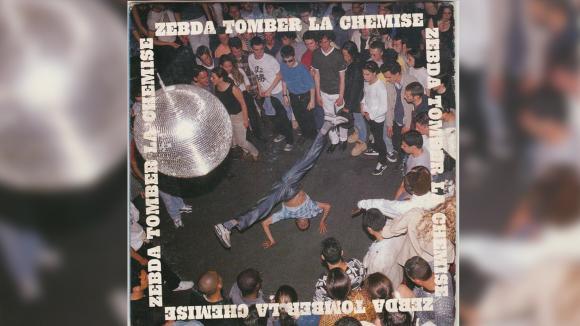 "Le CD single de ""Tomber la chemise"" de Zebda."
