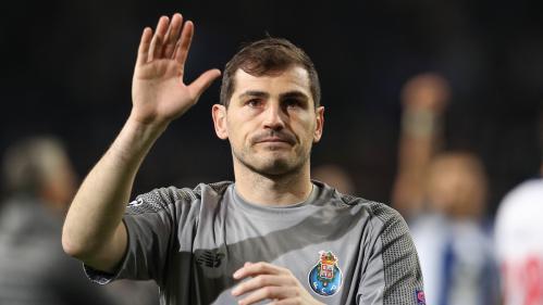 Football : Iker Casillas, mythique gardien de but de l'Espagne, officialise sa retraite