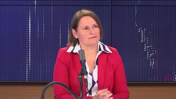 """Valérie Rabault, présidente du groupe socialiste à l'Assemblée nationale était l'invitée du """"8h30 franceinfo"""", mardi 4 août 2020."""