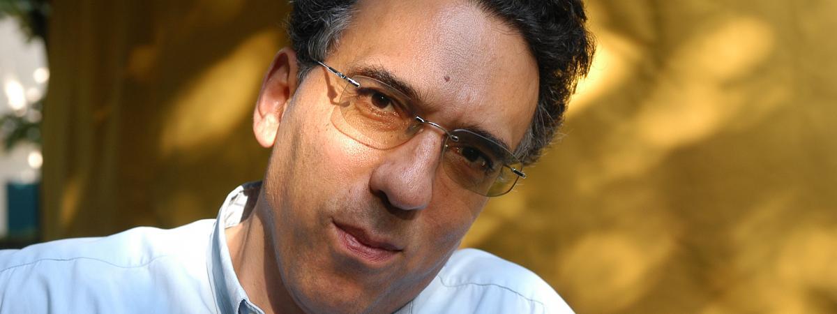 L\'écrivain libanais Charif Majdalani.