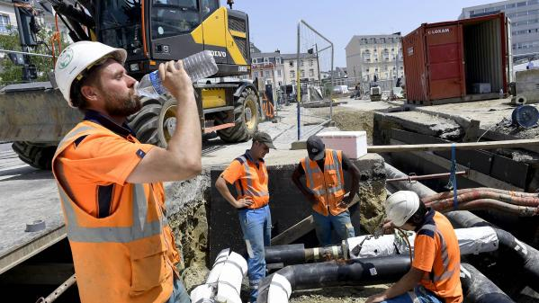 Canicule : une chaleur étouffante sur la France