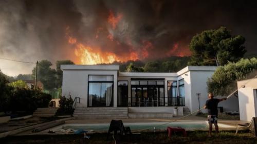 Incendie : un camping de Martigues miraculé