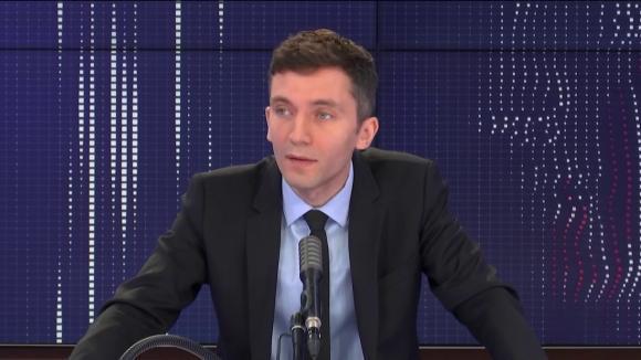 """Julien Sanchez, porte-parole du Rassemblement national, était l'invité du """"8h30 franceinfo"""", vendredi 6 août 2020."""