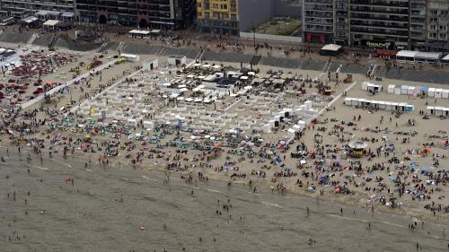 Coronavirus : en Belgique, plusieurs stations du littoral interdisent le tourisme d'un jour après des bagarres sur la plage
