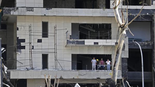 Les gens nous disent 'merci la France' , témoigne un marin-pompier de Marseille envoyé à Beyrouth après la double explosion