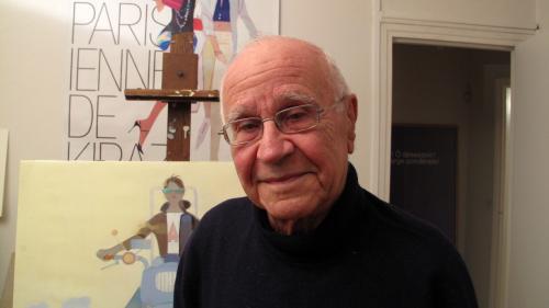 """Image de couverture - Kiraz, le dessinateur des célèbres """"Parisiennes"""", est mort à 96 ans"""