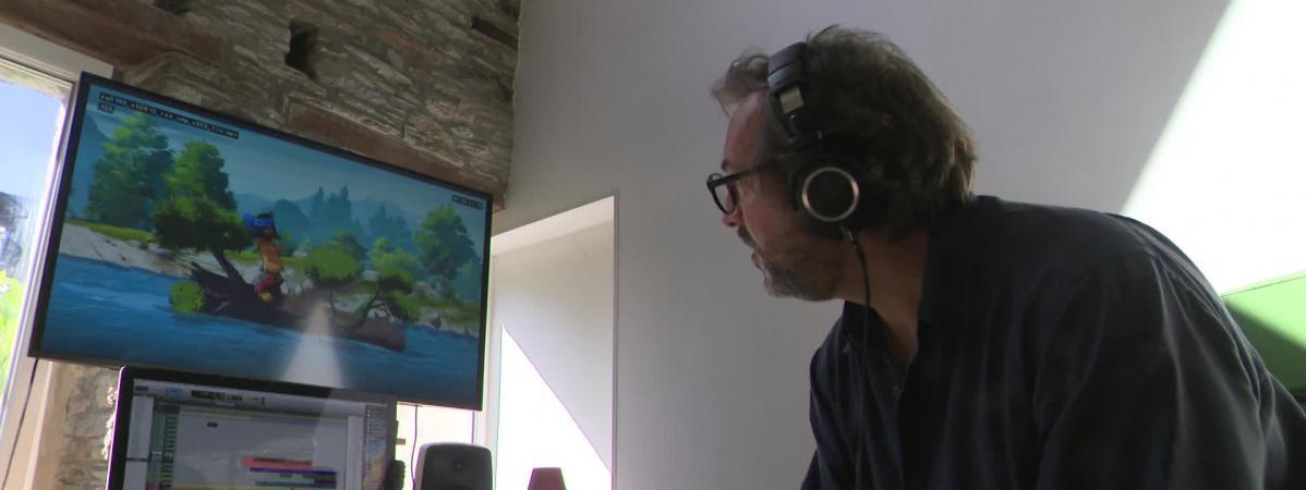 Guillaume Poyet, le compositeur de la musique du film Yakari.