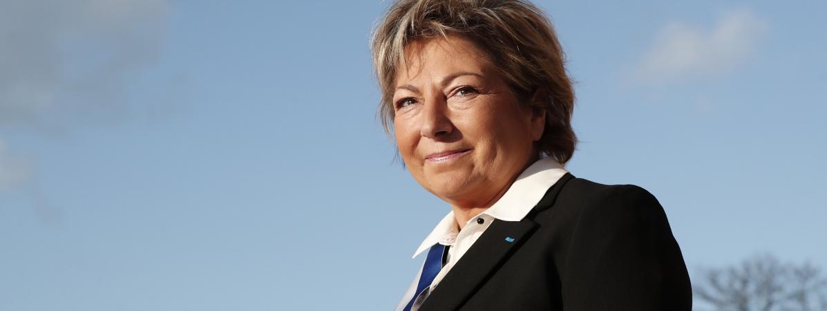 Natacha Bouchart, la maire de Calais, le 16 janvier 2018.