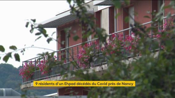 L'Ehpad de Pulnoy, en Meurthe-et-Moselle