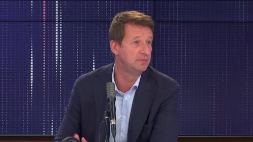 """Candidature à la présidentielle, rentrée scolaire, masques... le """"8h30 franceinfo"""" de Yannick Jadot"""