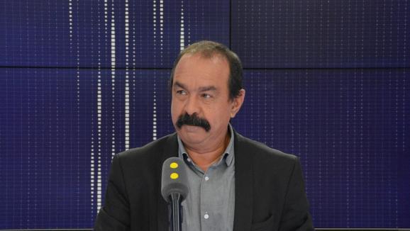 Philippe Martinez invité de franceinfo.