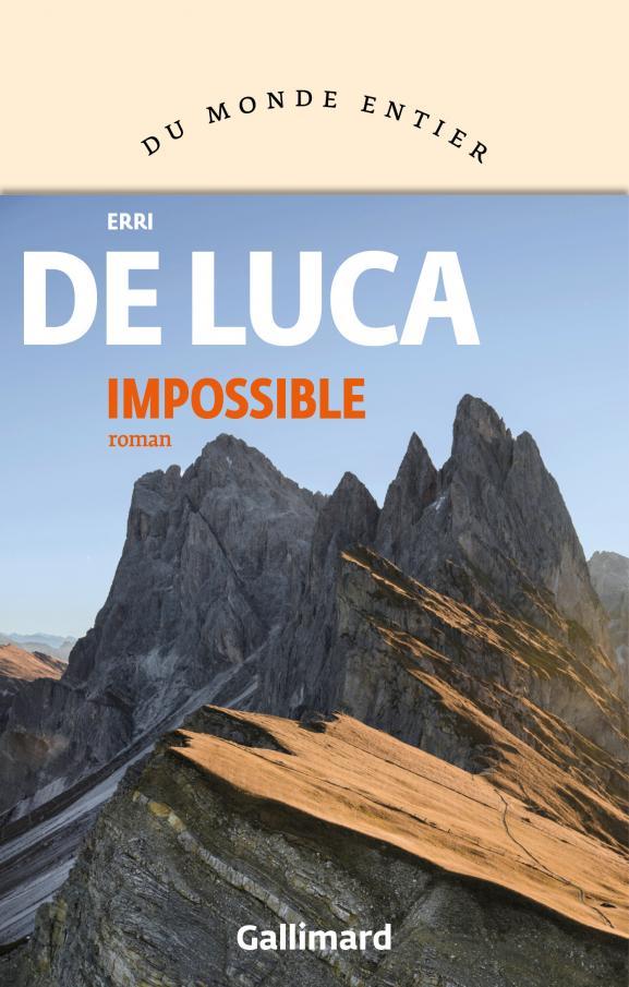 """Couverture de \""""Impossible\"""", de Erri de Luca"""