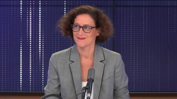 """Emmanuelle Wargon, ministre déléguée chargée du Logement était l'invité du """"8h30 franceinfo"""", samedi 5 septembre 2020."""