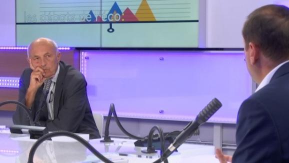 Jean-Hervé Lorenzi, président du Cercle des économistes, lors du débat sur le plan de relance, le 6 septembre 2020