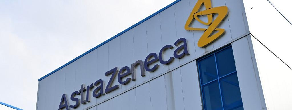 Les bureaux d\'Astrazeneca, à Macclesfield dans le Cheshire au Royaume-Uni, le 21 juillet 2020.