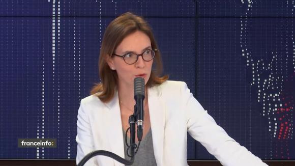 """Amélie de Montchalin, ministre de la Transformation et de la Fonction publiques, était l'invité du """"8h30 franceinfo"""", mardi 15 septembre 2020."""