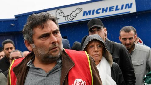 """Bridgestone : """"On est dans la même situation"""", estime un syndicaliste de Michelin de la Roche-sur-Yon, dont la production a cessé durant le confinement"""